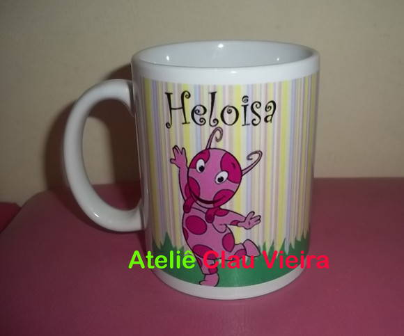 CANECA UNIQUA OS BACKYARDIGANS