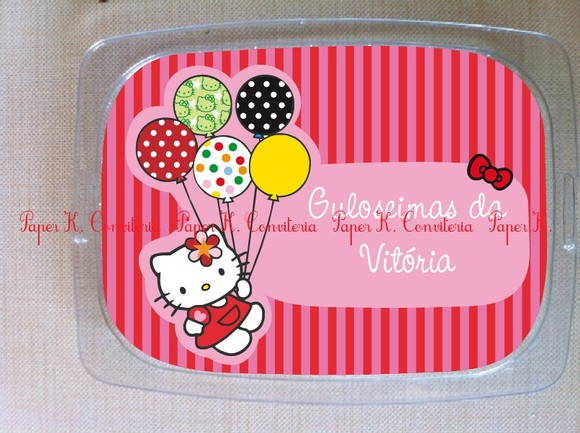 Marmita alumínio 250ml Hello Kitty