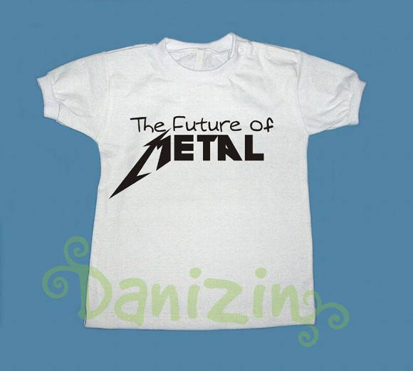 T- Shirt Bebê e Infantil THE FUTURE OF..