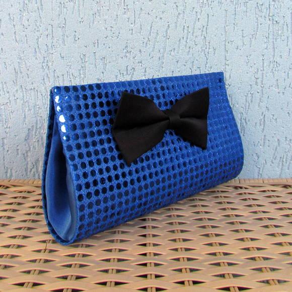 95014b3a0 Clutch Paetê Azul Royal no Elo7   Magias de Mulher (22F441)