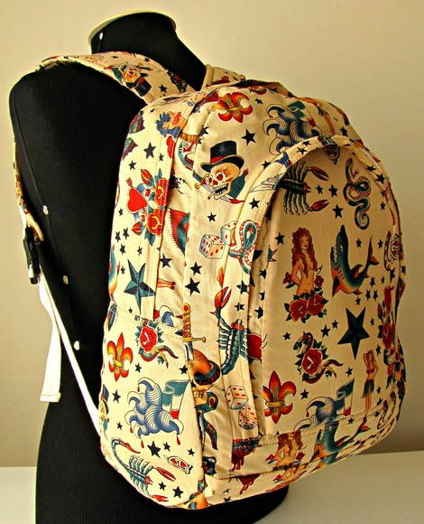Mochila Tattoo Old