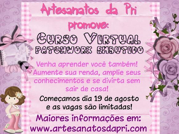 Curso Virtual Patchwork Embutido