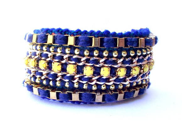 Friendship Bracelete Yellow&Blue