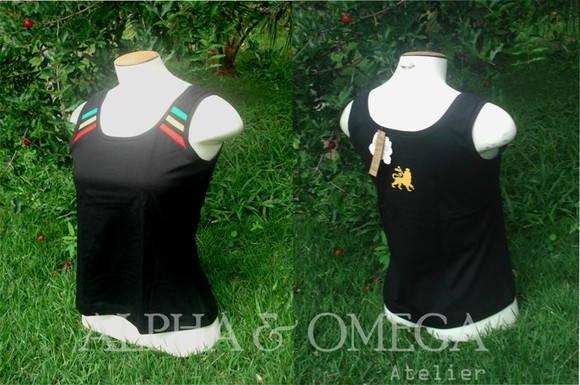 Camiseta Regata Reggae Classic PRETA no Elo7  c989c82c89f