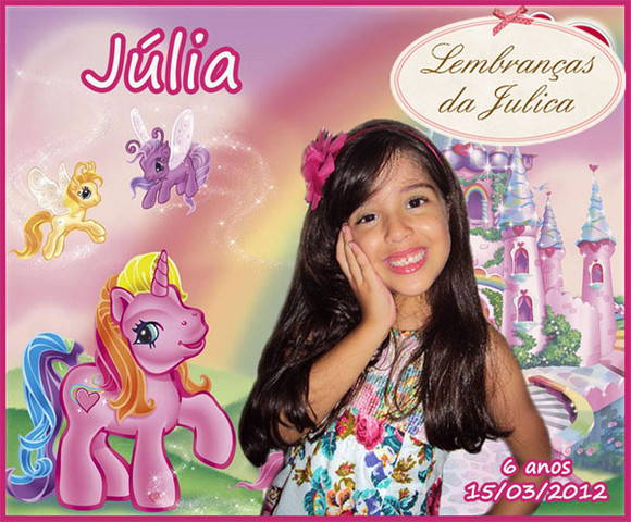 Ímã personalizado - My Little Pony