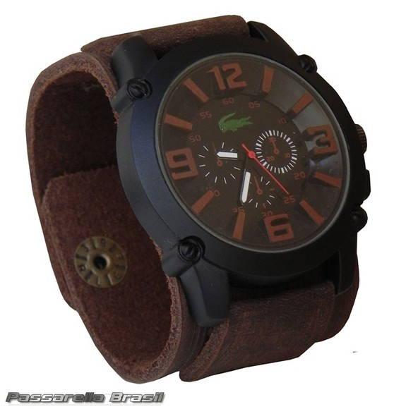 29fa4c326f1 Relógio Bracelete em Couro no Elo7