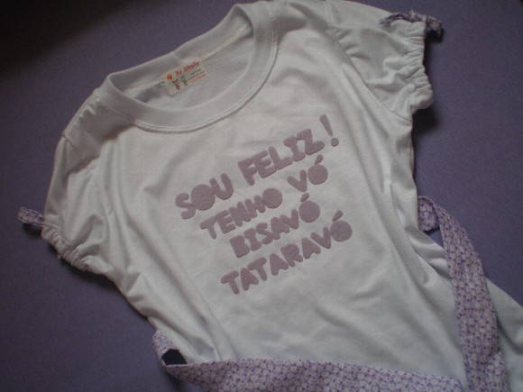 CAMISETA FASHION COM FRASE
