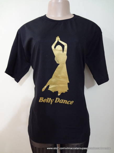 CAMISETAS BELLY DANCE