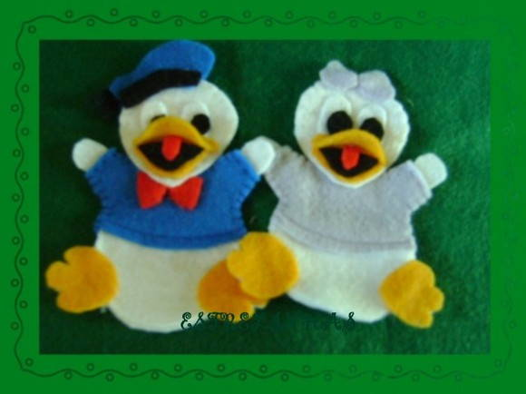 DISNEY - BABY - DONALD E MARGARIDA