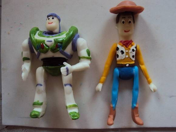 Ímãs do Toy Story