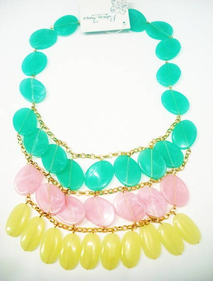 Maxi Colar Candy Colors