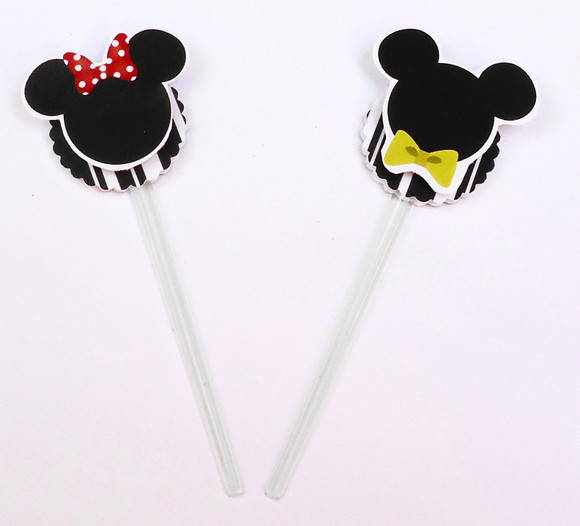 Mini toppers Minnie e/ou Mickey