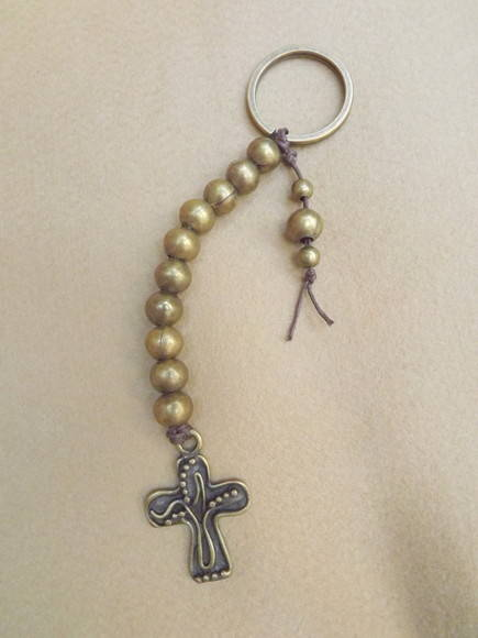 Keyring Rosaries- Metal