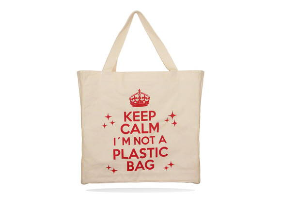 Ecobag - Keep Calm i'm not a plastic bag
