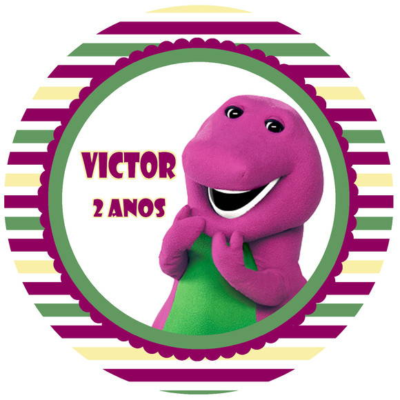 Kit Festa Digital Barney