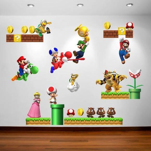 Adesivo Emagrecedor Funciona ~ Adesivo super Mario Bross 348 ADESIVOS COMPRAR E COLAR Elo7