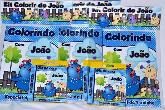 Revista kit colorir Galinha Pintadinha