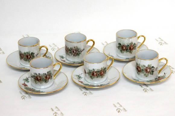 X caras de porcelana caf cada uma no elo7 atelier for Marcas de vajillas de porcelana