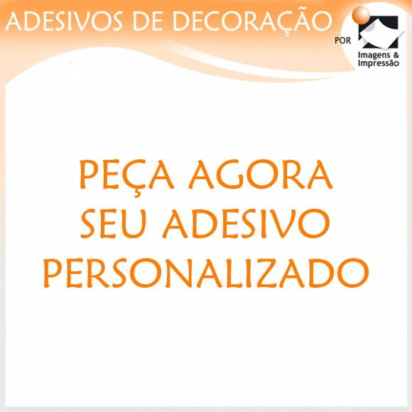 Artesanato Em Ubatuba ~ Peça agora seu adesivo personalizado! Adesivos de Decoraç u00e3o por Imagens e Impress u00e3o Elo7