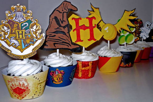 Wrappers e Toppers Harry Potter