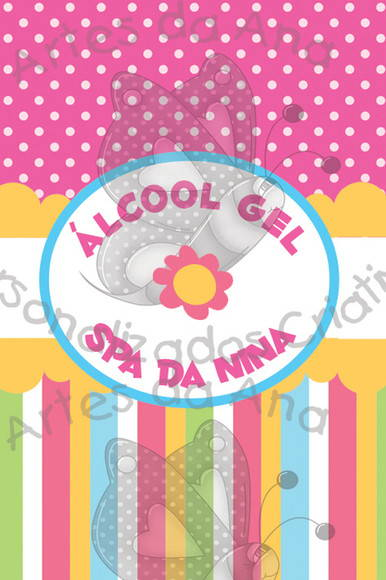 Álcool Gel Spa Infantil