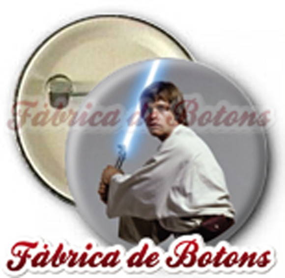 BOTON 2,5cm LUCKY SKYWALKER STAR WARS