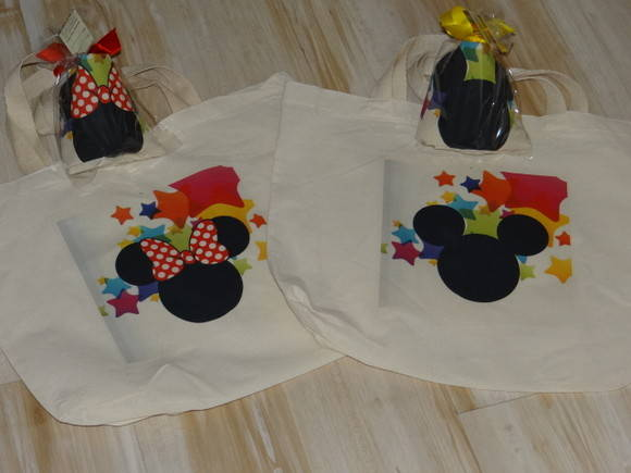 Ecobag Grande - Mickey E Minnie