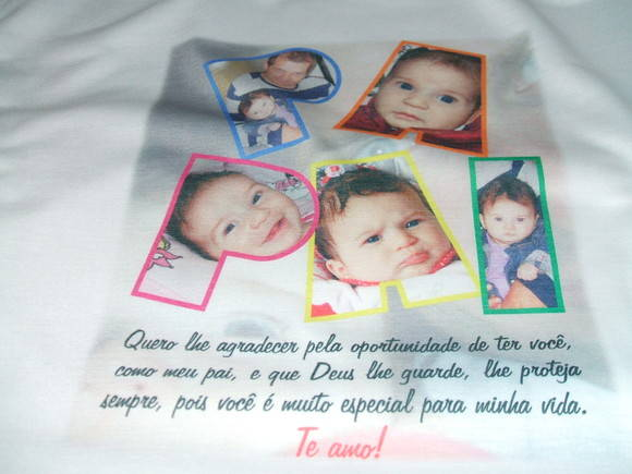 Camiseta do Papai