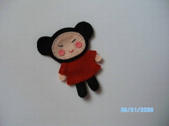 DEDOCHE PERSONAGEM PUCCA