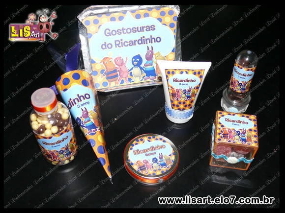 KIT PERSONALIZADOS BACKYARDIGANS
