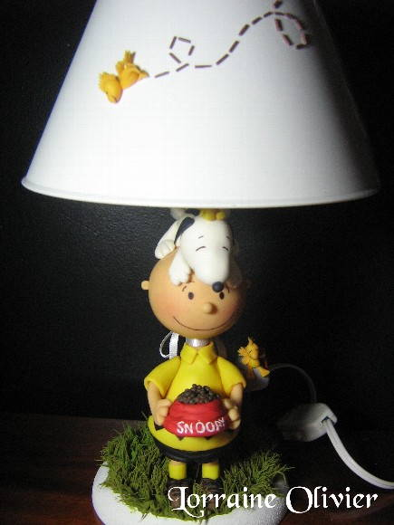 peanuts lamp
