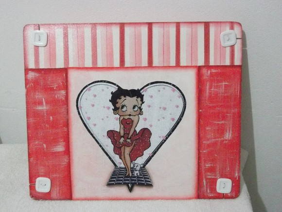 Apoio Para Notebook Betty Boop