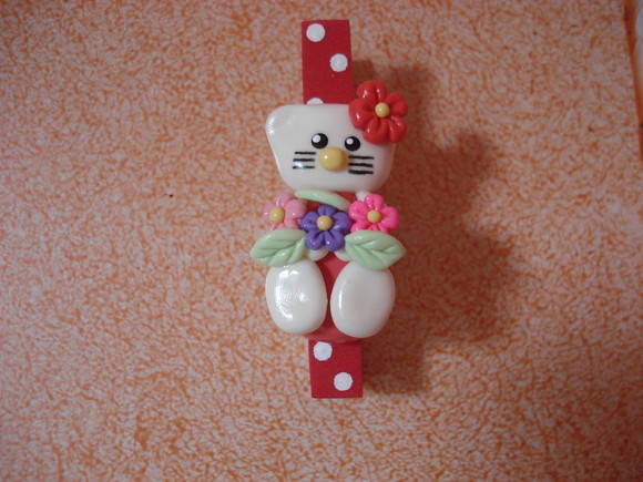 Prendedor Hello Kitty