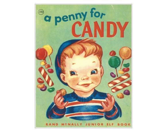 Placa MDF Retrô Penny For Candy - 328