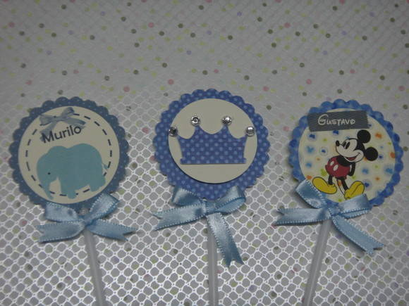 Toppers Para Doces Personalizado