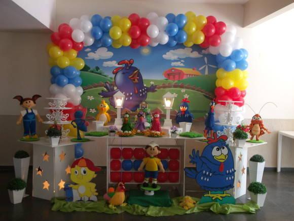 Decoraç u00e3o Festa Galinha Pintadinha Clean no Elo7 Atelier Doces Sonhos Festas By Vanessa  -> Decoração De Festa Infantil Da Galinha Pintadinha Rosa