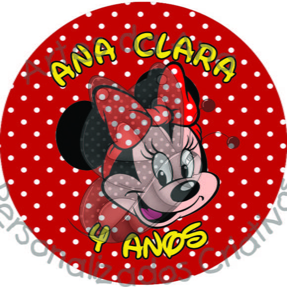 Rótulo Minnie