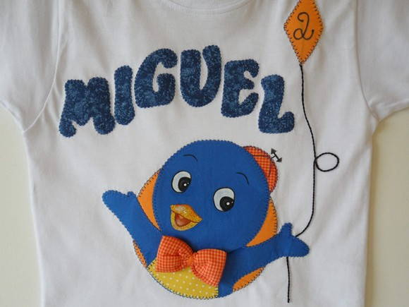 Camiseta turma Backyardigans