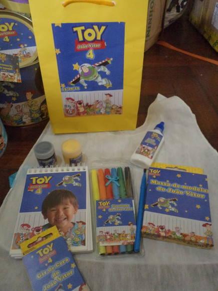878c22d775a84 Kit desenho ou escolar Toy Story no Elo7   Atelier das Lopes (2635DA)