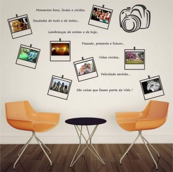 Adesivo mural de fotos adesivos comprar e colar elo7 for Mural de fotos en cartulina