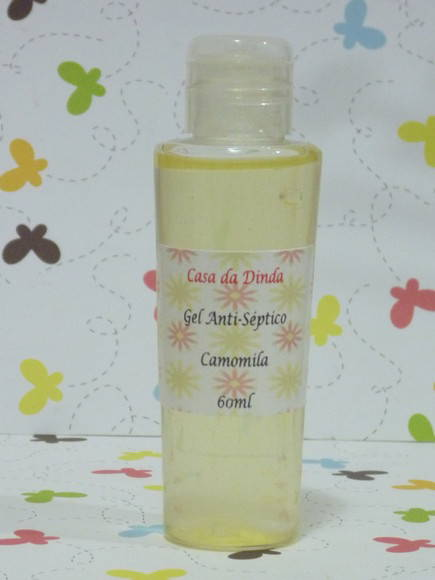 Gel Anti-séptico - Camomila - 60ml