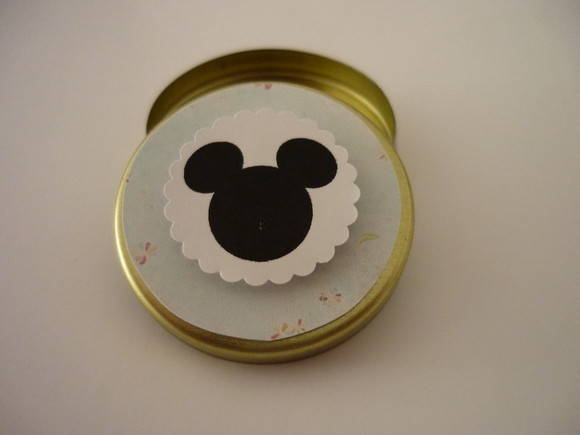 Mini Latinha Mickey