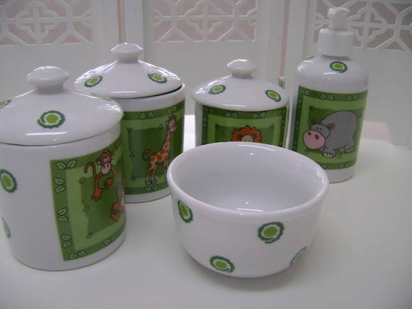 kit higiene safari porcelana