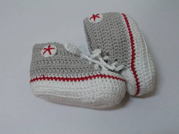 Tênis All Star Baby Cinza