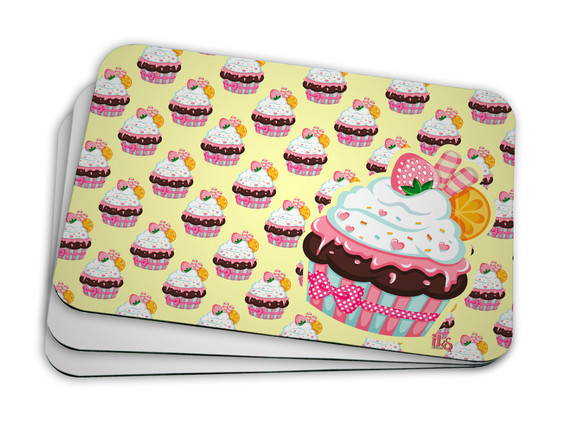 Mouse Pad Cupcake