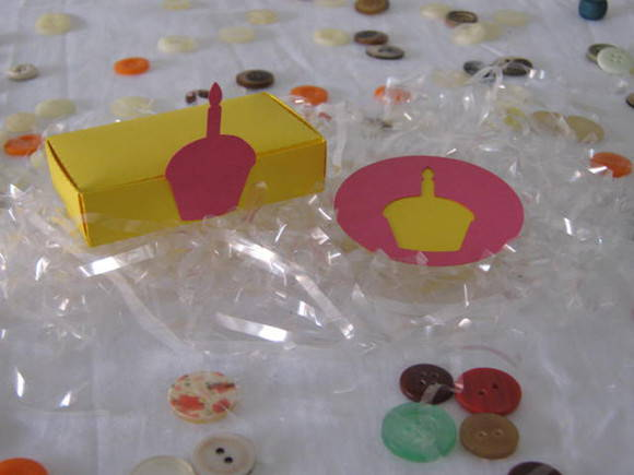 Kit Festa Scrap Decor CUPCAKE