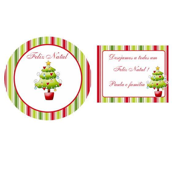 Armario Sala Jantar ~ Kit Adesivo E Tag Natal Ateli u00ea Bimbina Festas Elo7