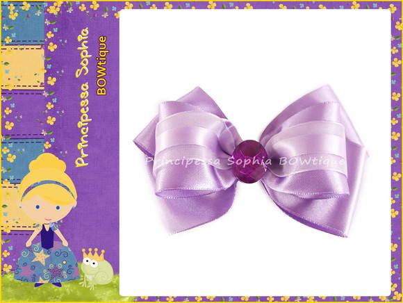 Lilac Bow
