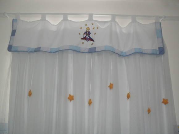 Cortina pequeno príncipe  BAMBINOS DECORAÇÕES INFANTIS  Elo7