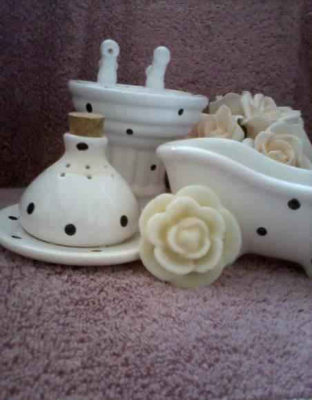 Kit Banheiro Porcelana Mickey : Kit banheiro pia aromatizador decor h arteira elo